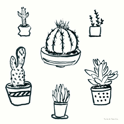 Prickly Little Things Original Print