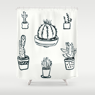 Prickly Little Things Do Not Preek At Me Shower Curtain