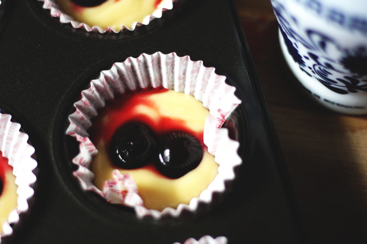 Amarena Cherry Muffins