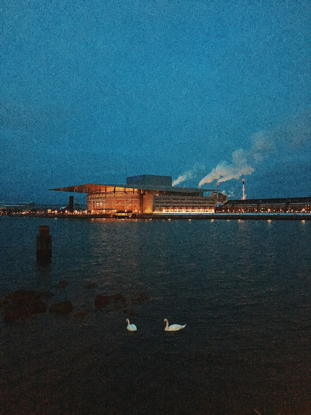 View of Copenhagen Opera House from the Royal Danish Playhouse